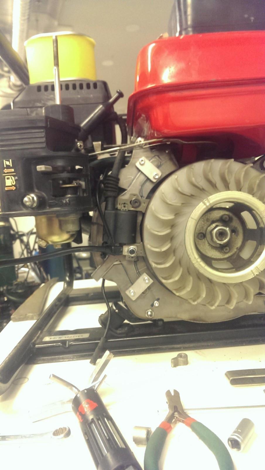 Coil / tennspole til Honda motorer - Alversund  - Ny coil til Honda industrimotorer gx120, gx160, gx200 med flere. Passer mange ulike motorer. Litt leveringstid kan forekomme - Alversund