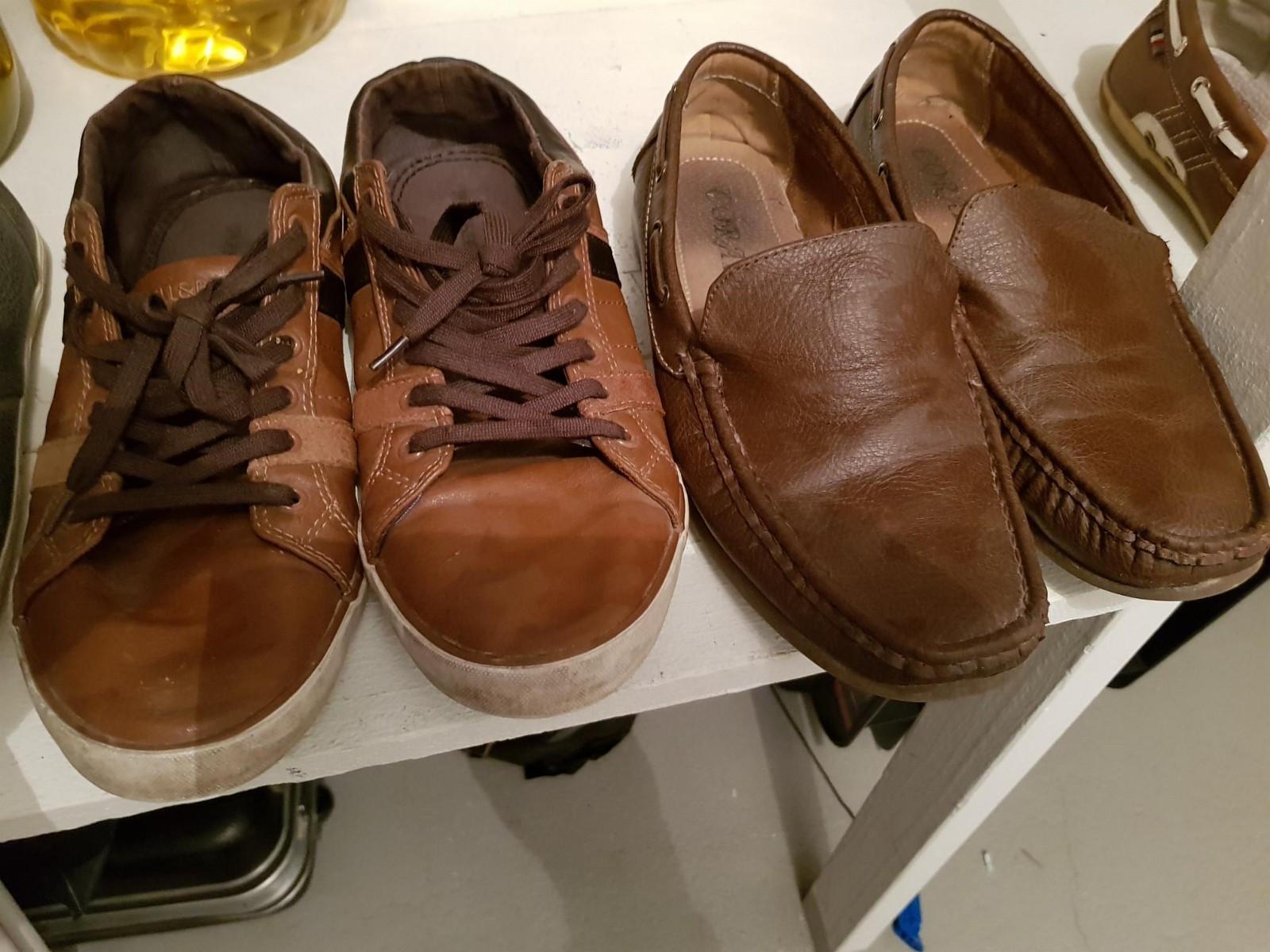 Sko i str 40-41 - Sandefjord  - Sko i størrelse 40-41 gisbort da jeg har mange sko. 2 av skoene er pull & bear merke. Vil ha de vekk fort. - Sandefjord
