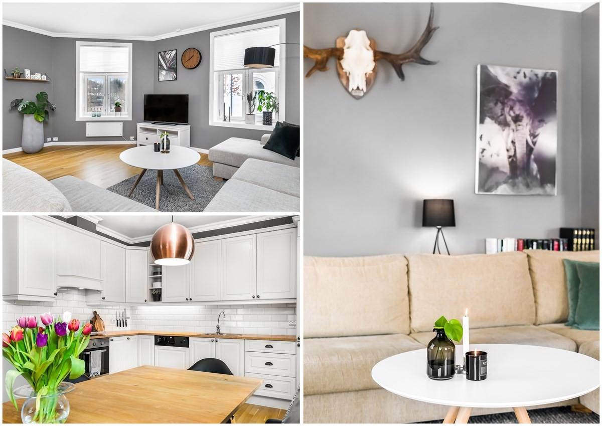 Leilighet - Sentrum / Bøkelia - larvik - 2 990 000,- - Leinæs & Partners
