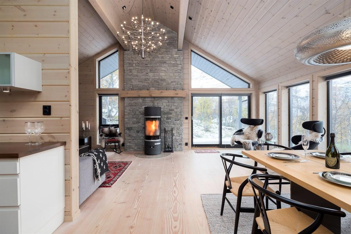 Velkommen til Gramstølen! Høystandard hytte med oppgraderte interiørvalg