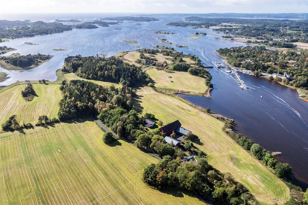 Hytte - Vikerøya i Tjølling - tjodalyng - 1 590 000,- - Leinæs & Partners