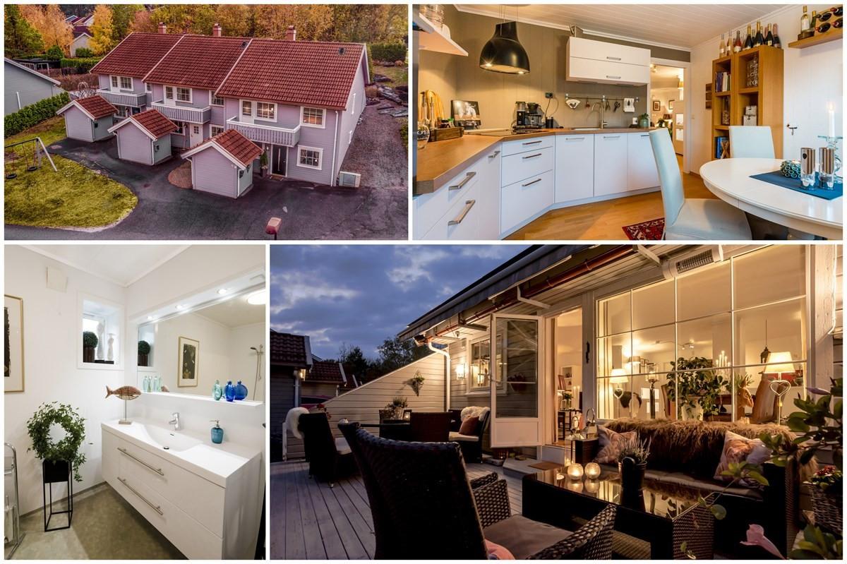 Rekkehus - *solgt Kr. 2.025.000,-* - porsgrunn - 1 990 000,- - Meland & Partners