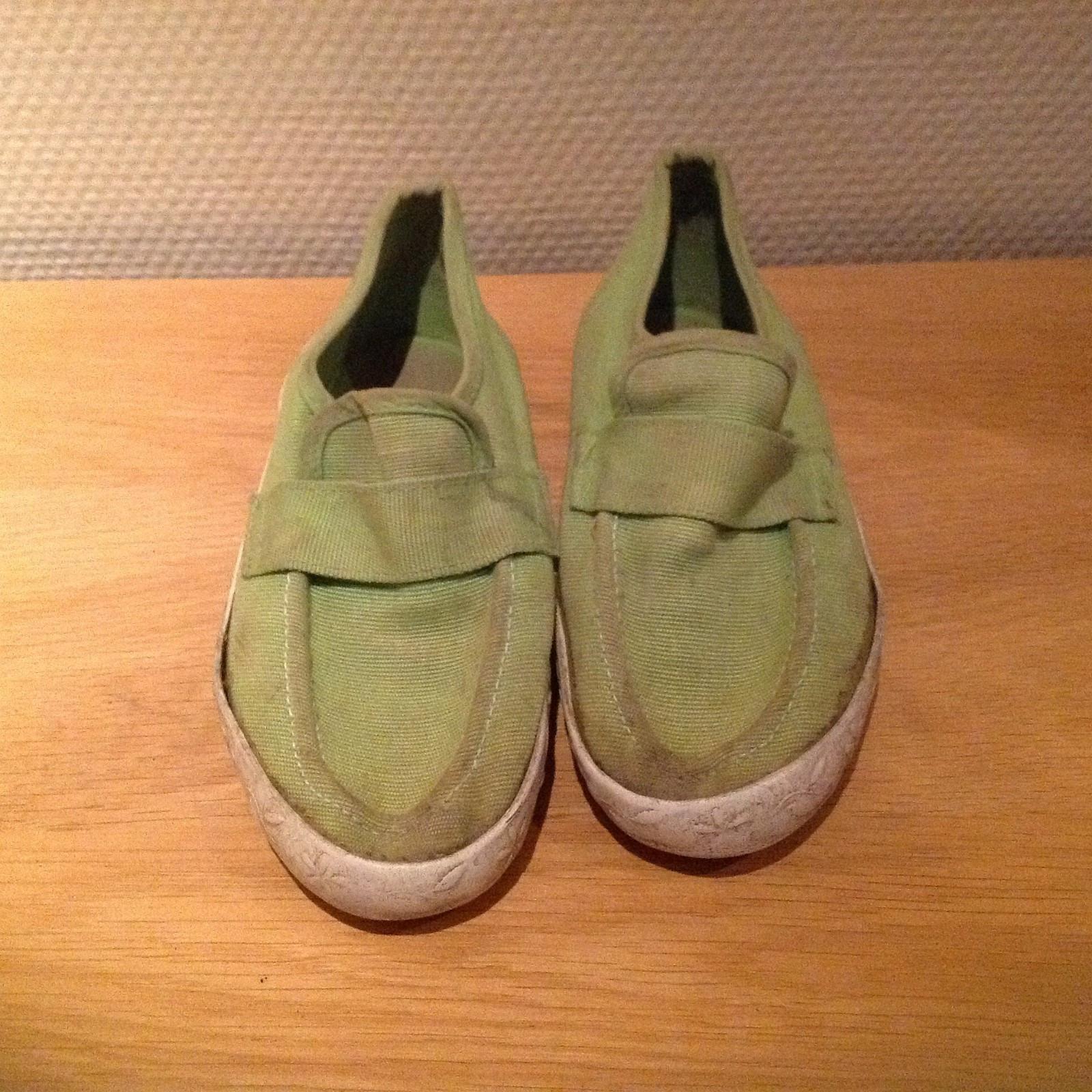 Limegrønne sko str. 29 | FINN.no
