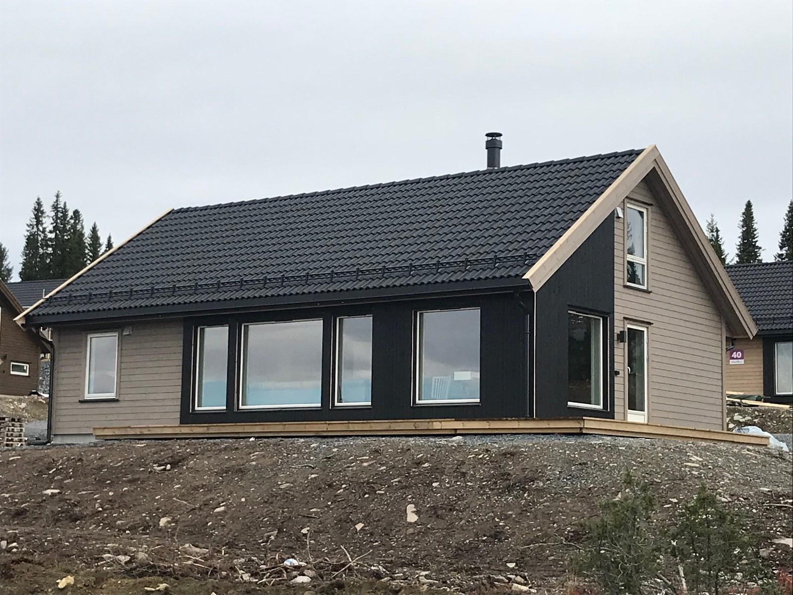 Nybygget hytte fra 2018