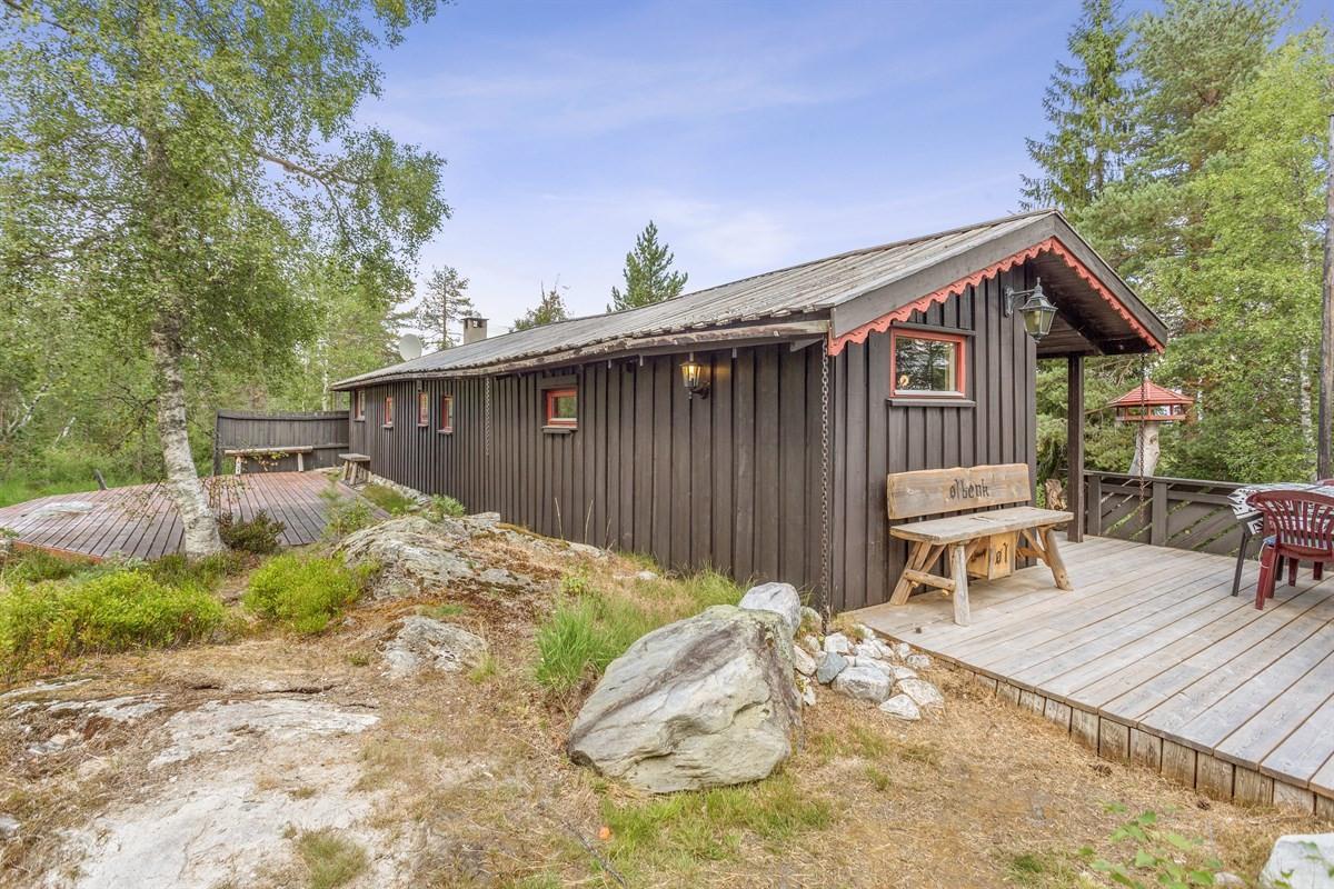 Hytte - Blefjell - lampeland - 1 290 000,- - Leinæs & Partners