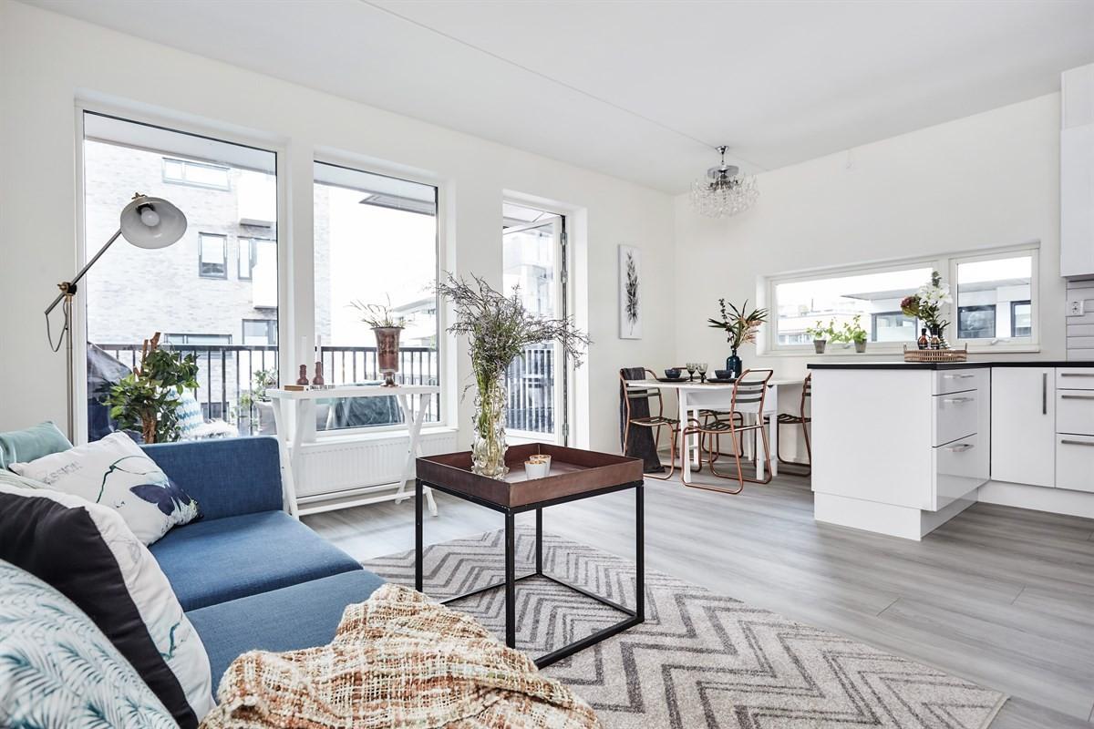 Leilighet - Kværnerbyen - oslo - 2 600 000,- - Schala & Partners