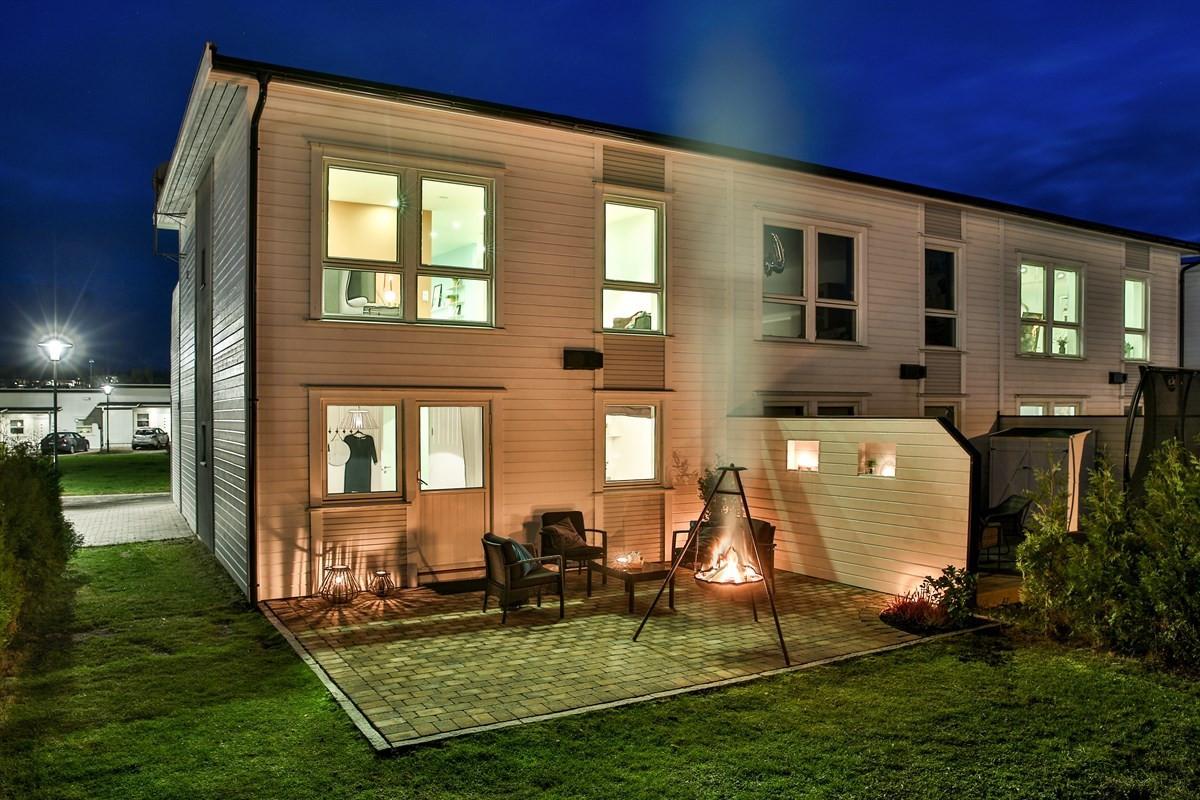 Rekkehus - Begby - gamle fredrikstad - 3 250 000,- - Møller & Partners