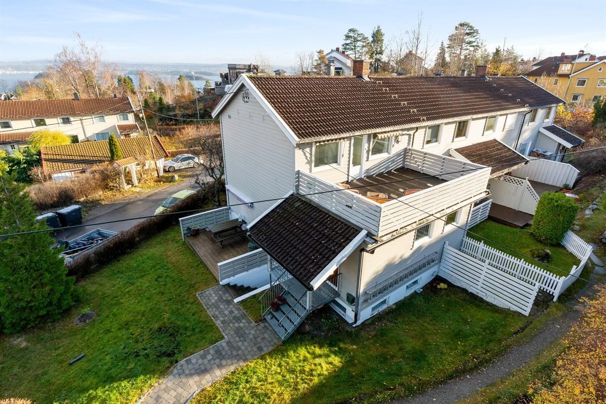 Rekkehus - Tangen - nesoddtangen - 5 800 000,- - Sydvendt & Partners