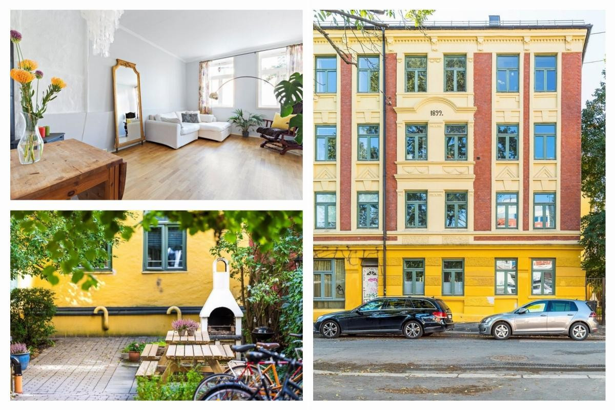 Leilighet - Grünerløkka - Sofienberg - oslo - 3 000 000,- - Schala & Partners