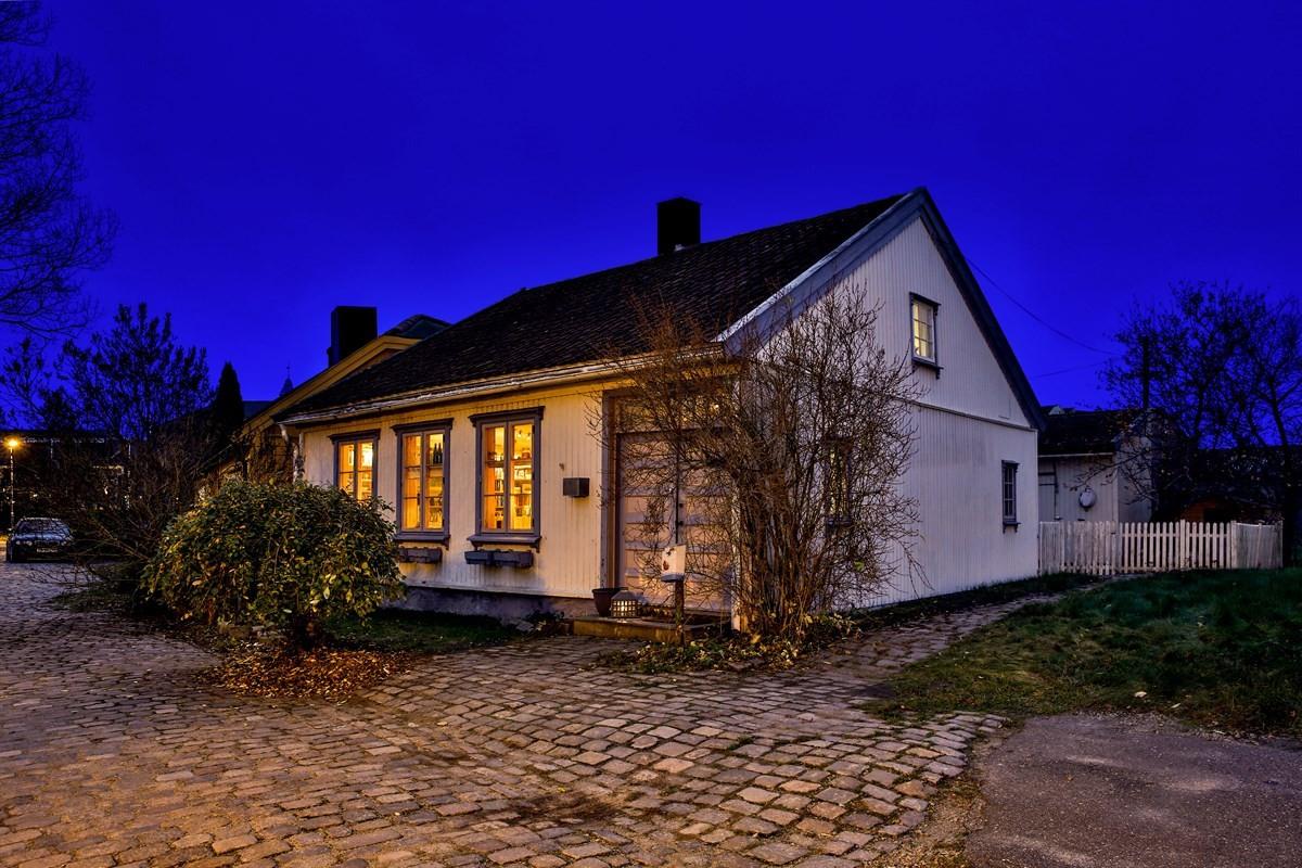 Enebolig - Vaterland utenfor Gamlebyen - gamle fredrikstad - 3 450 000,- - Møller & Partners