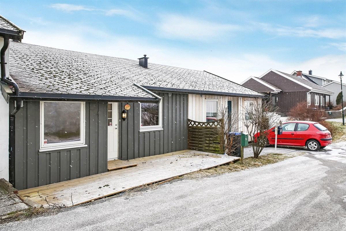 Rekkehus - gamle fredrikstad - 1 450 000,- - Møller & Partners