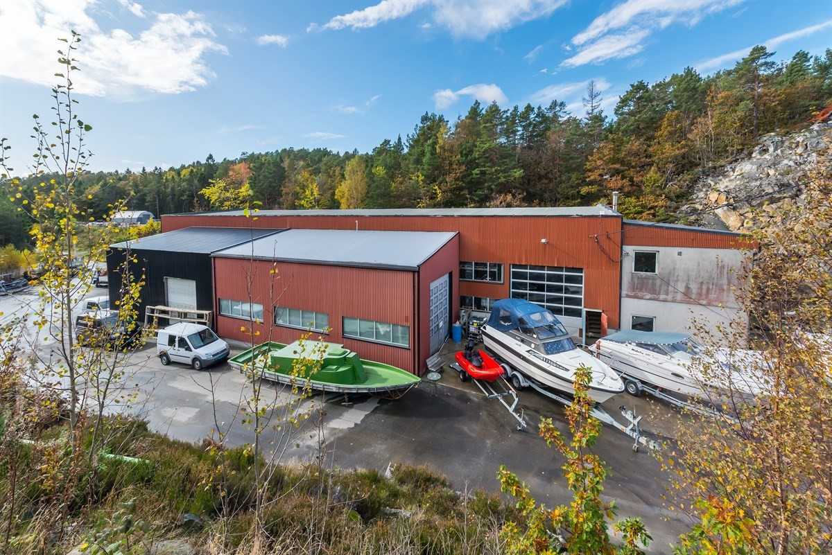 Næringsbygg - færvik - 3 800 000,- - Meglerhuset & Partners