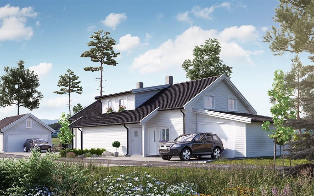 bolig-b-har-garasje-i-tilknytning-til-bolig-bolig-a-har-frittliggende-dobbel-garasje
