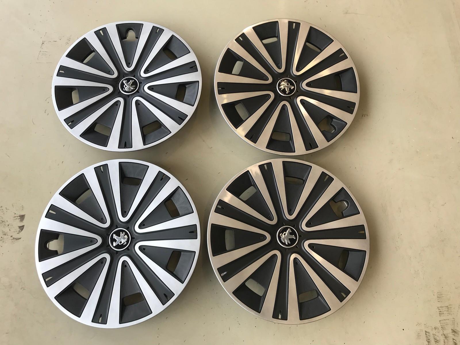 Hjulkapsler til Peugeot, 15 tommer | FINN.no