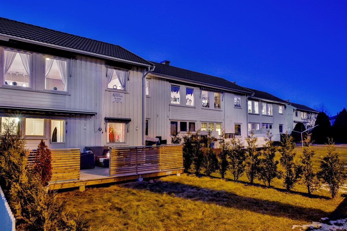Rekkehus - gamle fredrikstad - 2 365 000,- - Møller & Partners