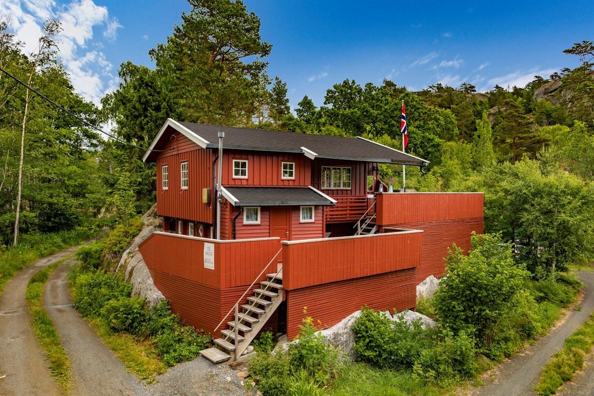 Hytte - Herfell i Tjølling - tjodalyng - 1 590 000,- - Leinæs & Partners