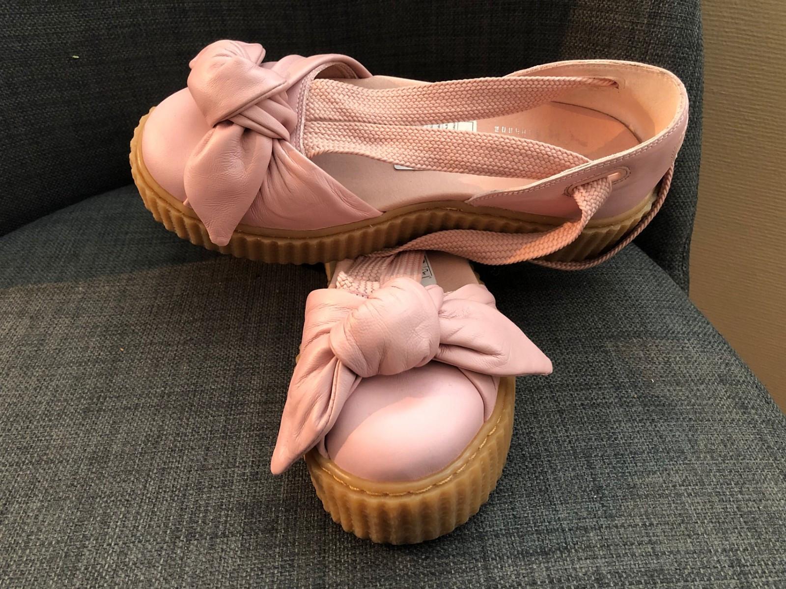Sko Fenty Puma rosa sandaler str. 37   FINN.no