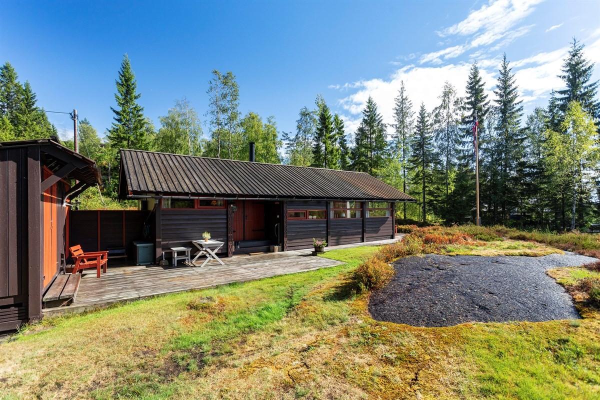 Hytte - Braivann | Kariåsen - steinsholt - 1 390 000,- - Leinæs & Partners