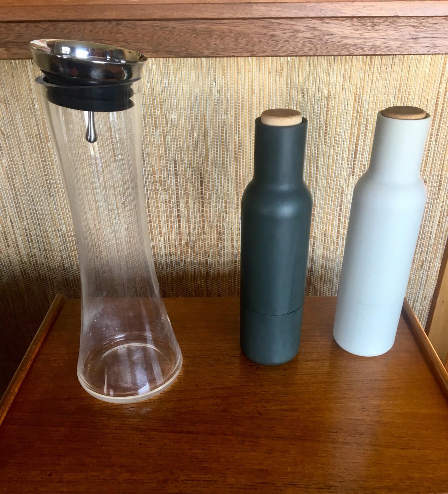 Stor Menu salt og pepper kvern og karaffel | FINN.no PE-69