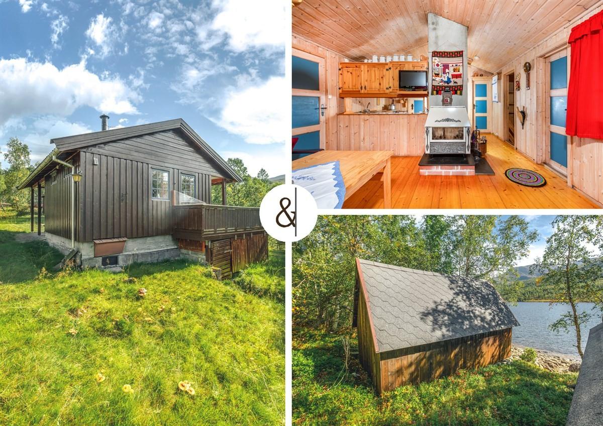Hytte - Tudalsbrekka (Fjellsætra) - straumgjerde - 1 890 000,- - Aursnes & Partners