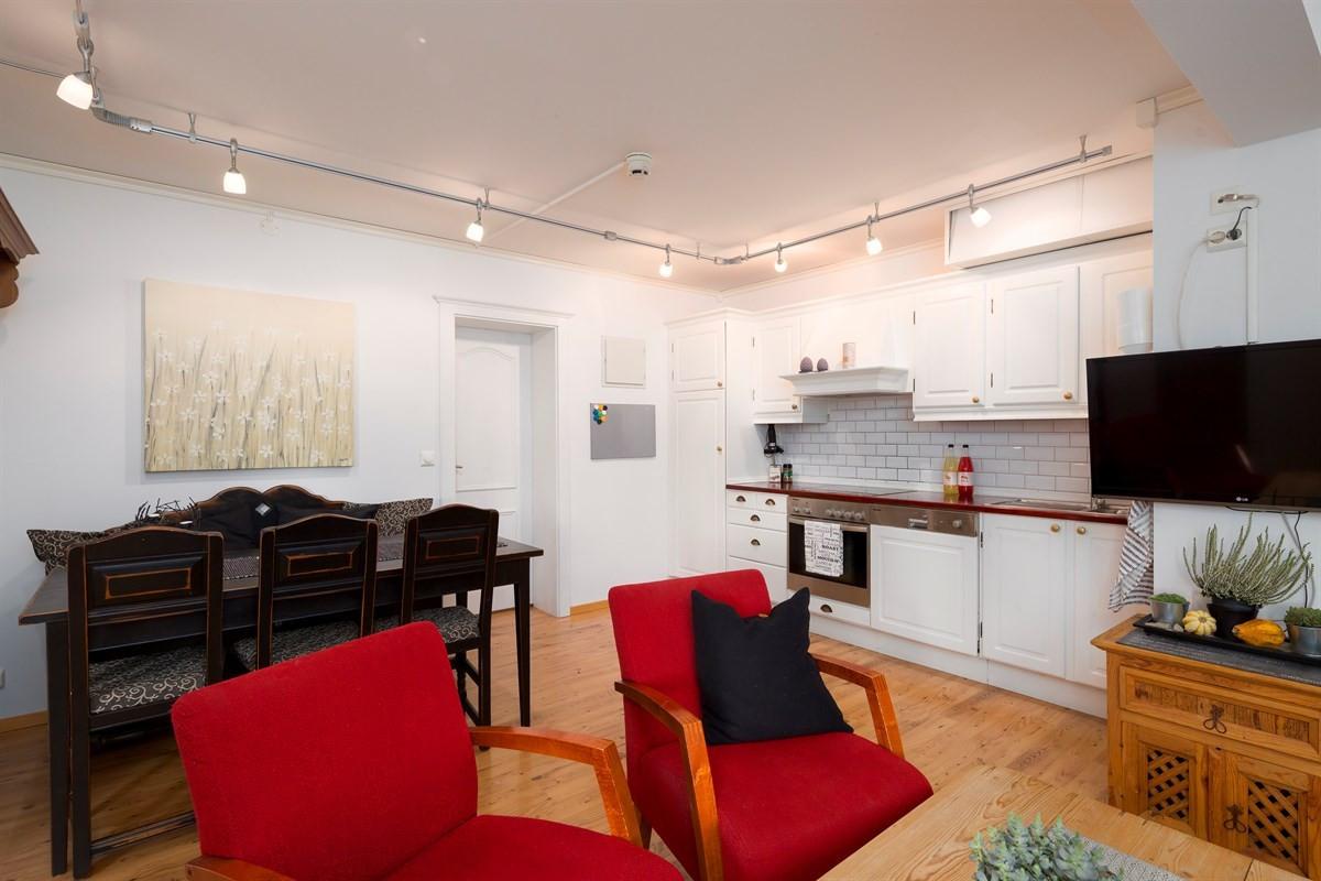Velkommen til denne lyse og hyggelige leiligheten i Beitostølen Fjellpark!