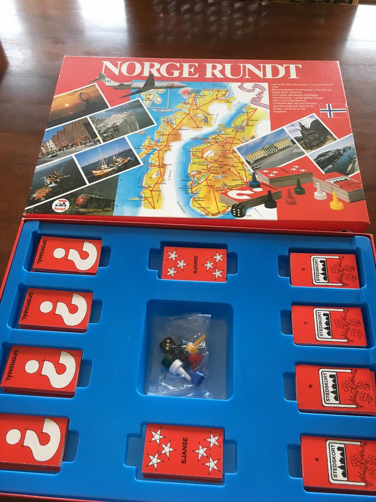 Norge spillet brettspill