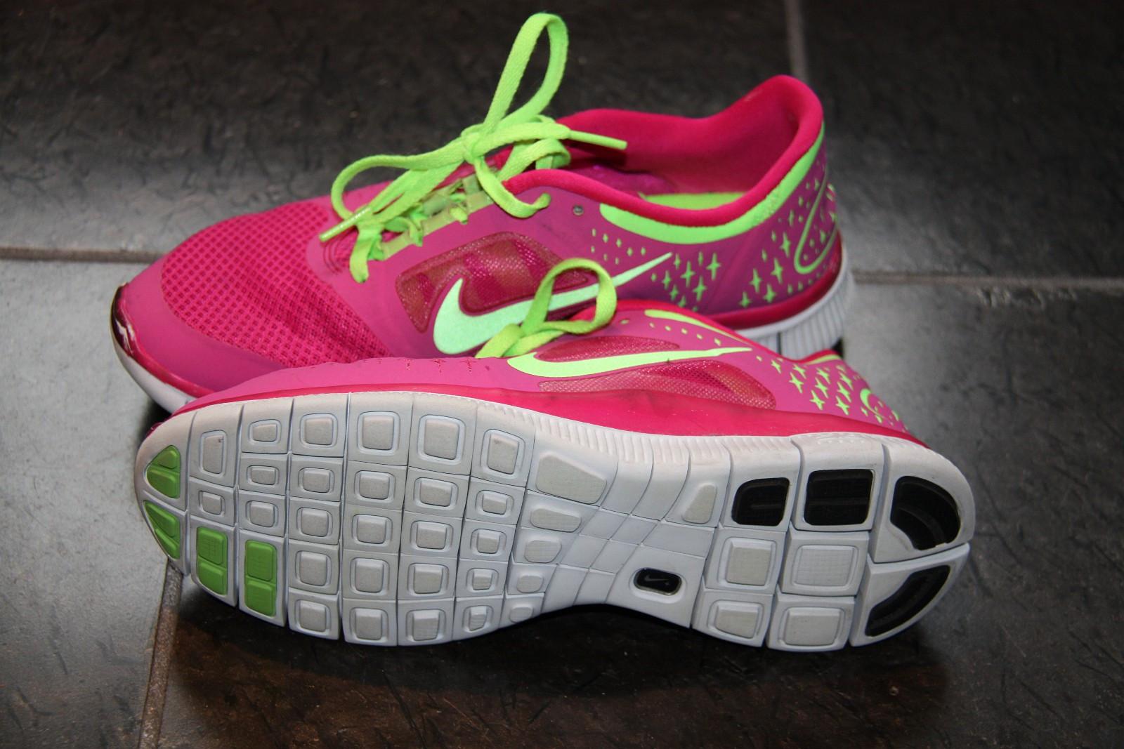Nike Free Run +3, Løpesko dame, Rosa, str 40   FINN.no