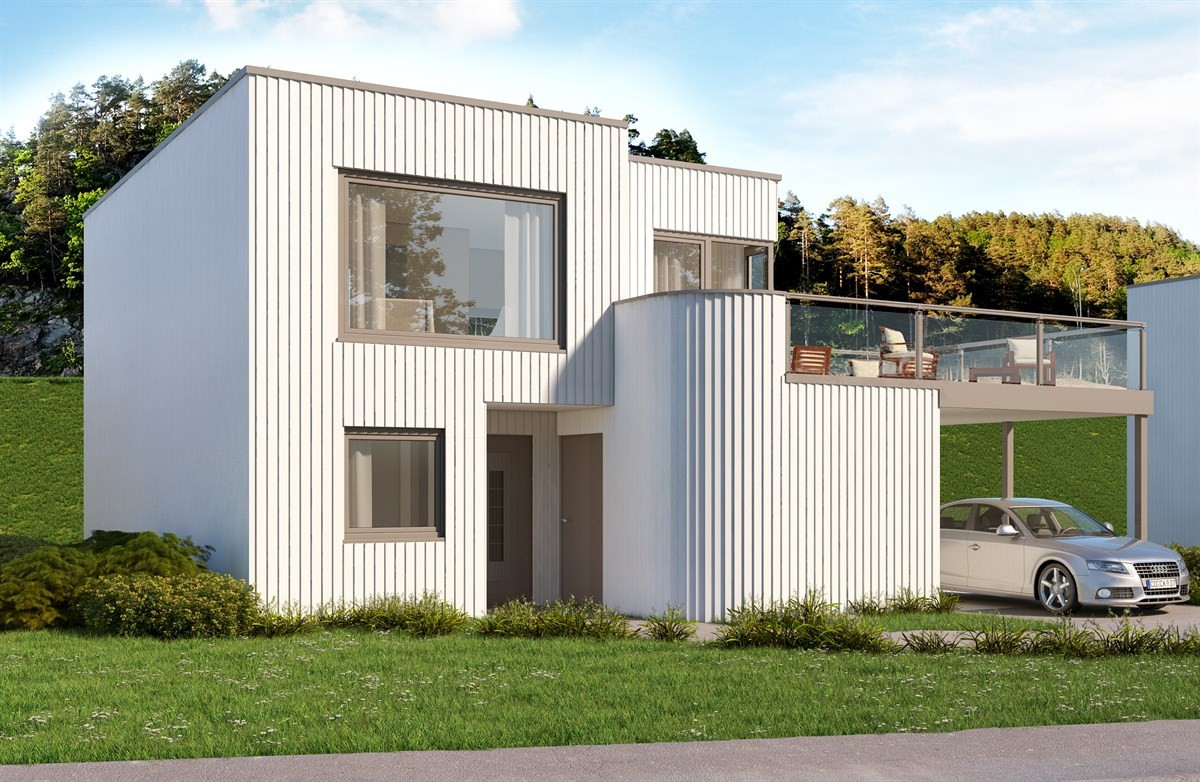 Enebolig - færvik - 4 090 000,- - Meglerhuset & Partners