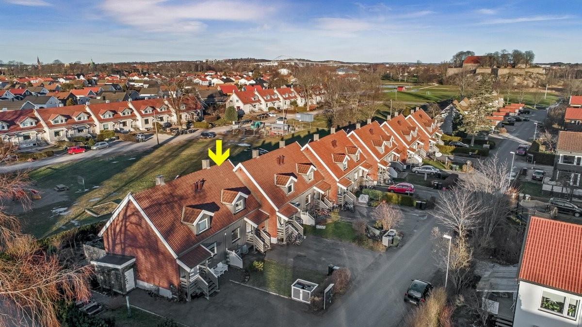 Rekkehus - Kongsten - Gamle Fredrikstad - gamle fredrikstad - 2 950 000,- - Møller & Partners