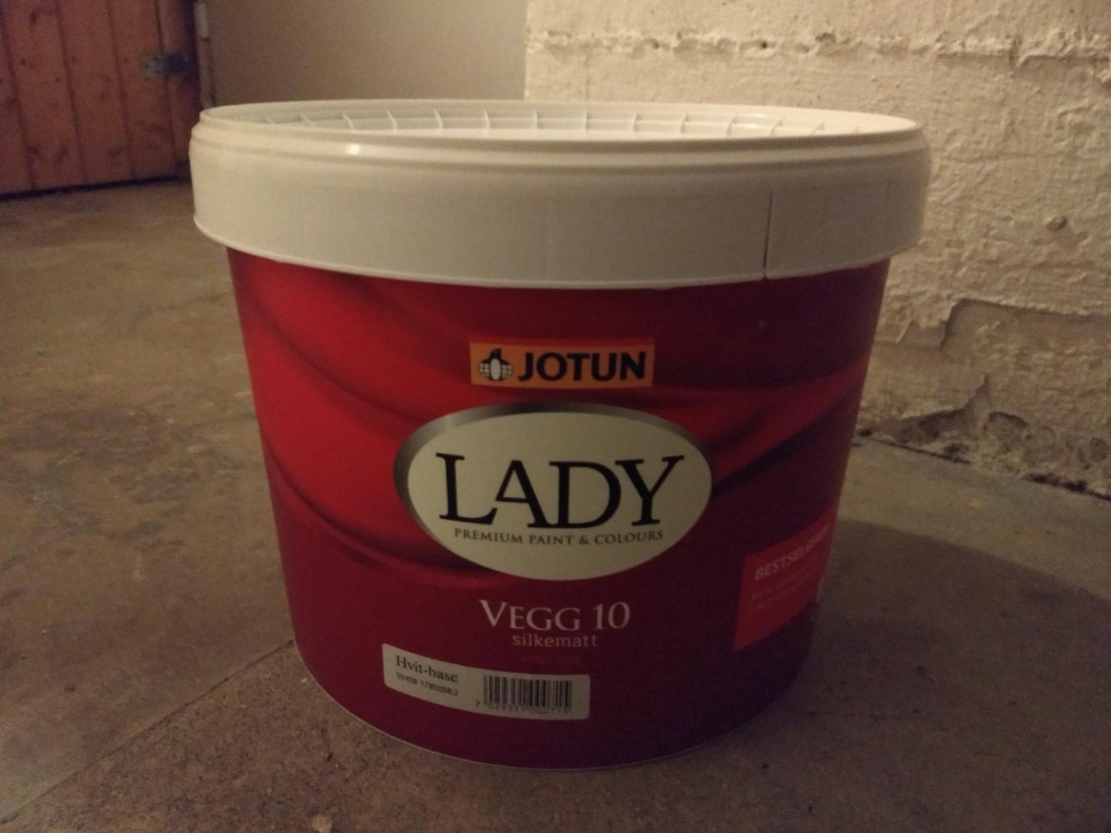 jotun lady vegg