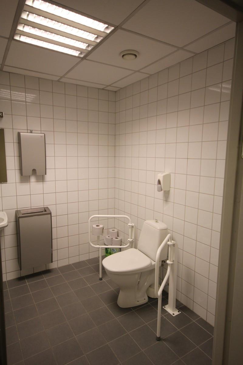 Felles toalett 3 ets