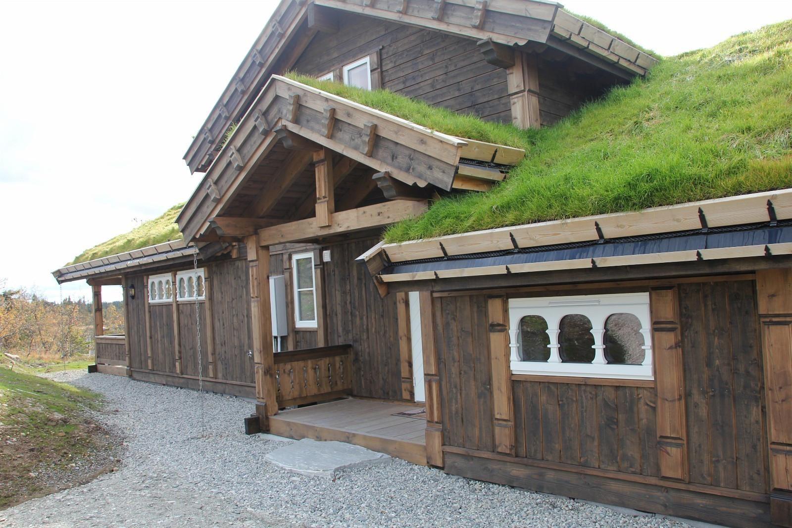 Bilde fra en tilsvarende hytte - kundetilpasninger kan forekomme.