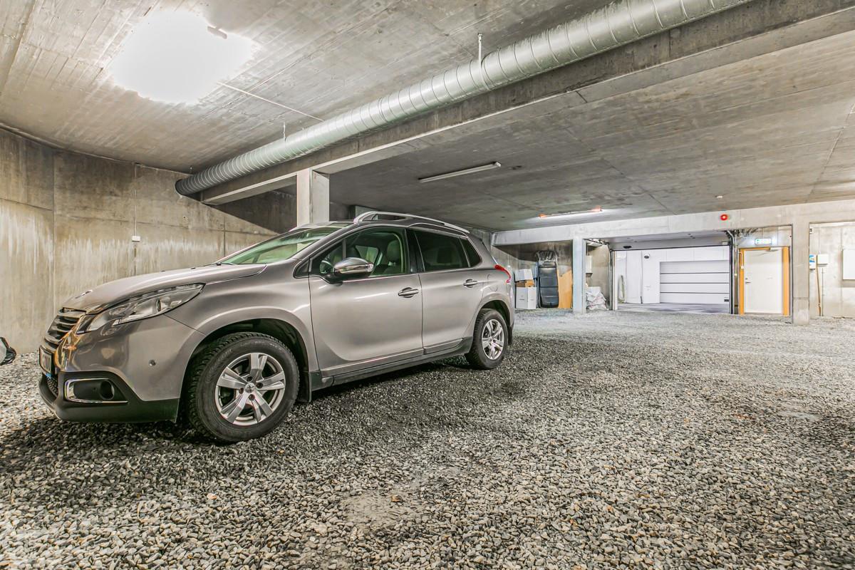 Fast parkeringsplass i garasjeanlegg
