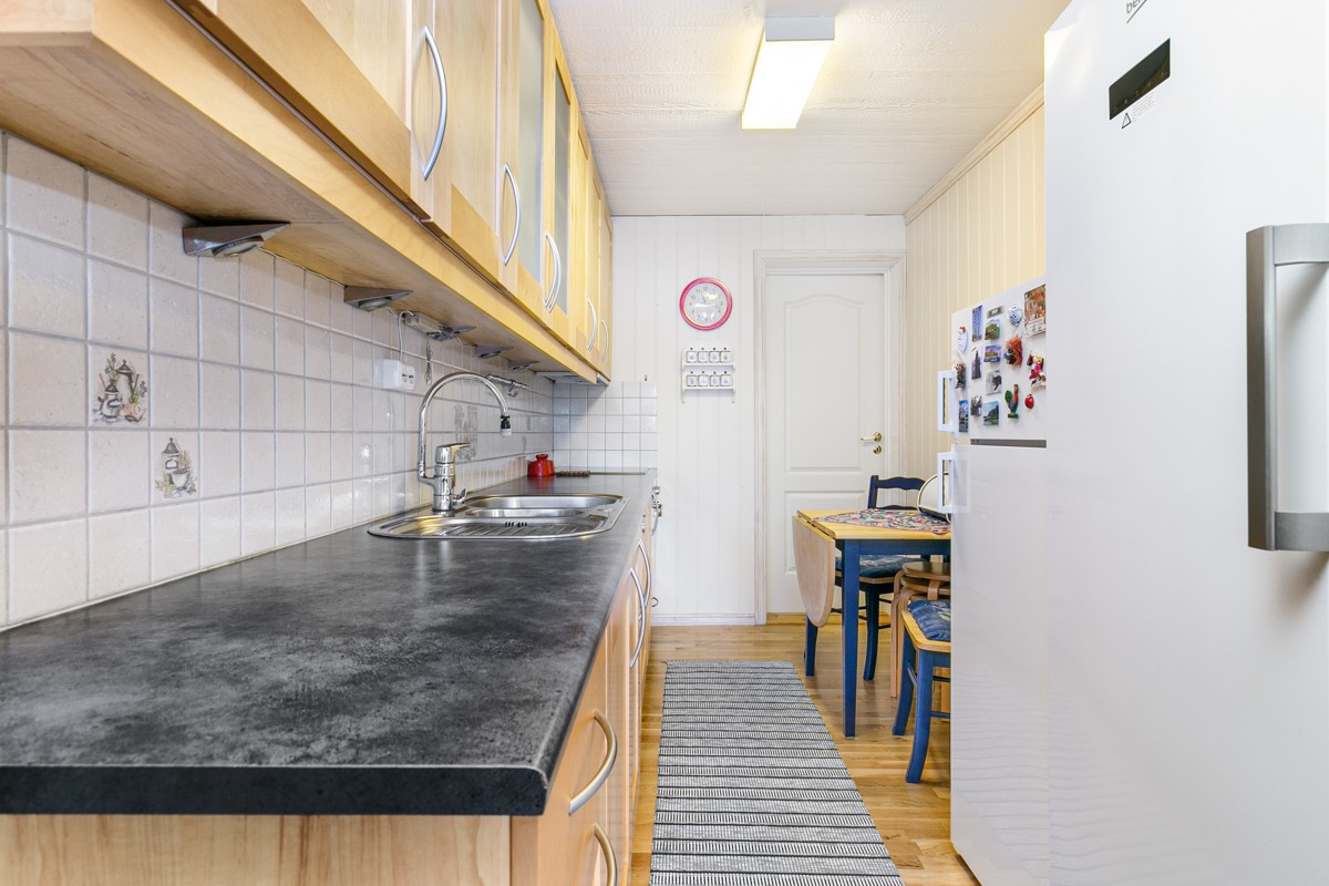 Kjøkken i utleieleilighet