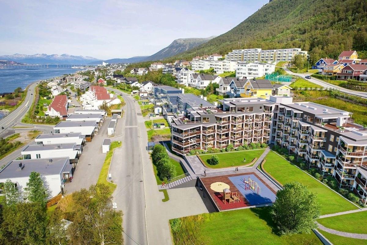 Området er attraktivt med kort vei til barnehage, skole og dagligvarebutikk