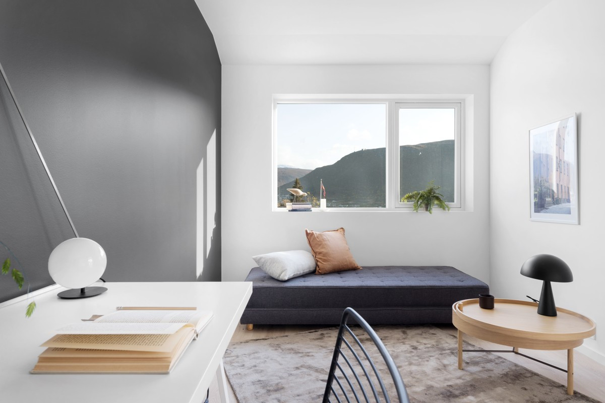 Soverom 1 kan også brukes som kontor, tv-stue eller lekerom