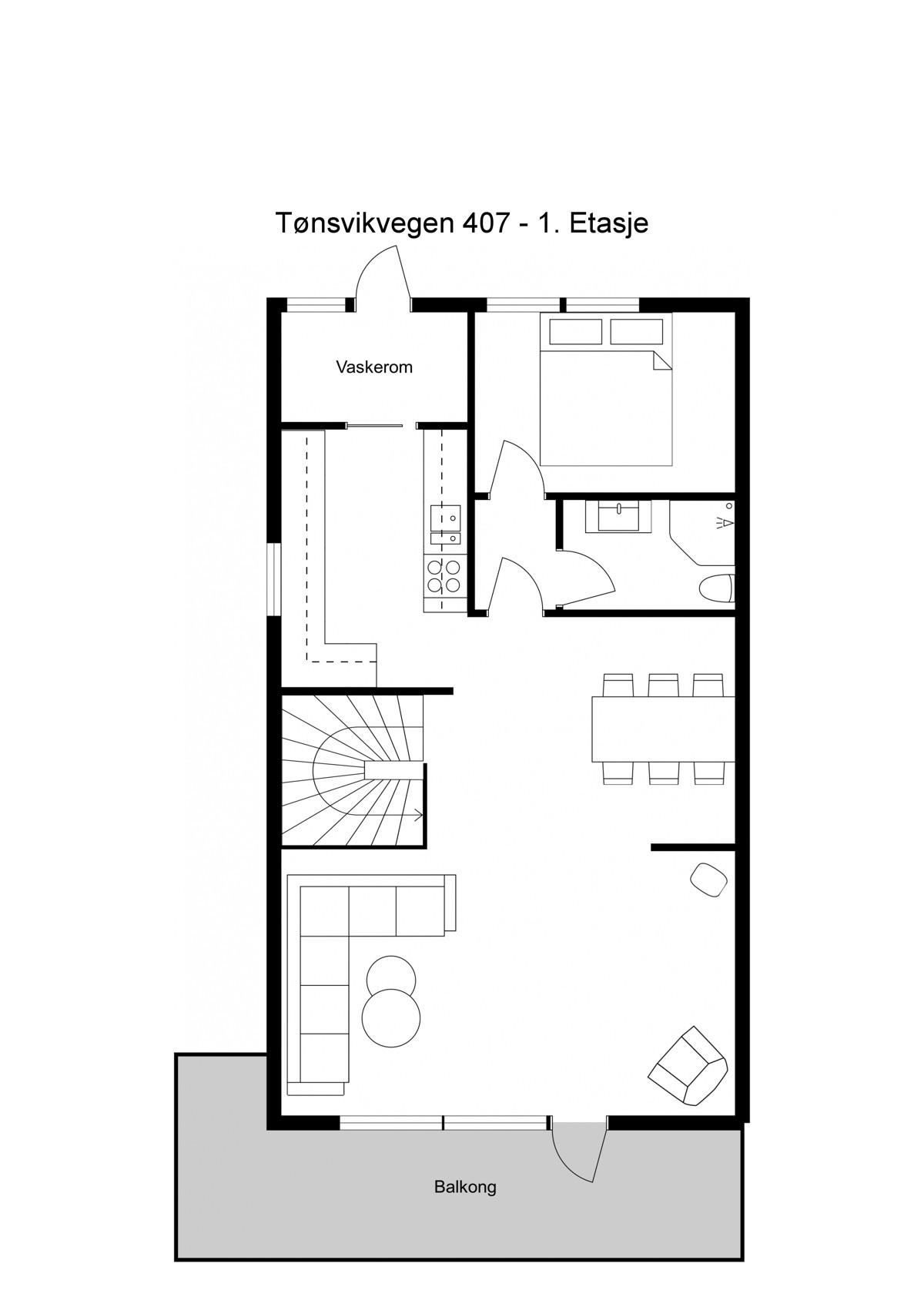 Planskisse 2. plan