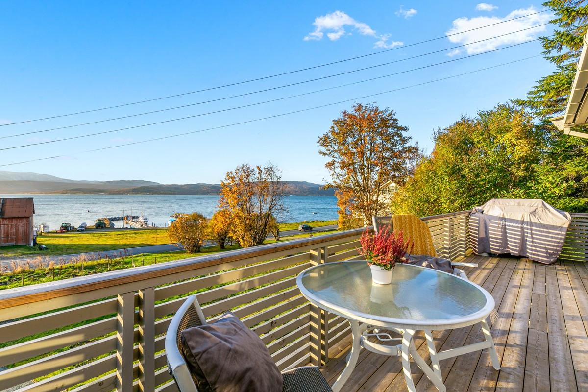Gode lys- og solforhold på veranda