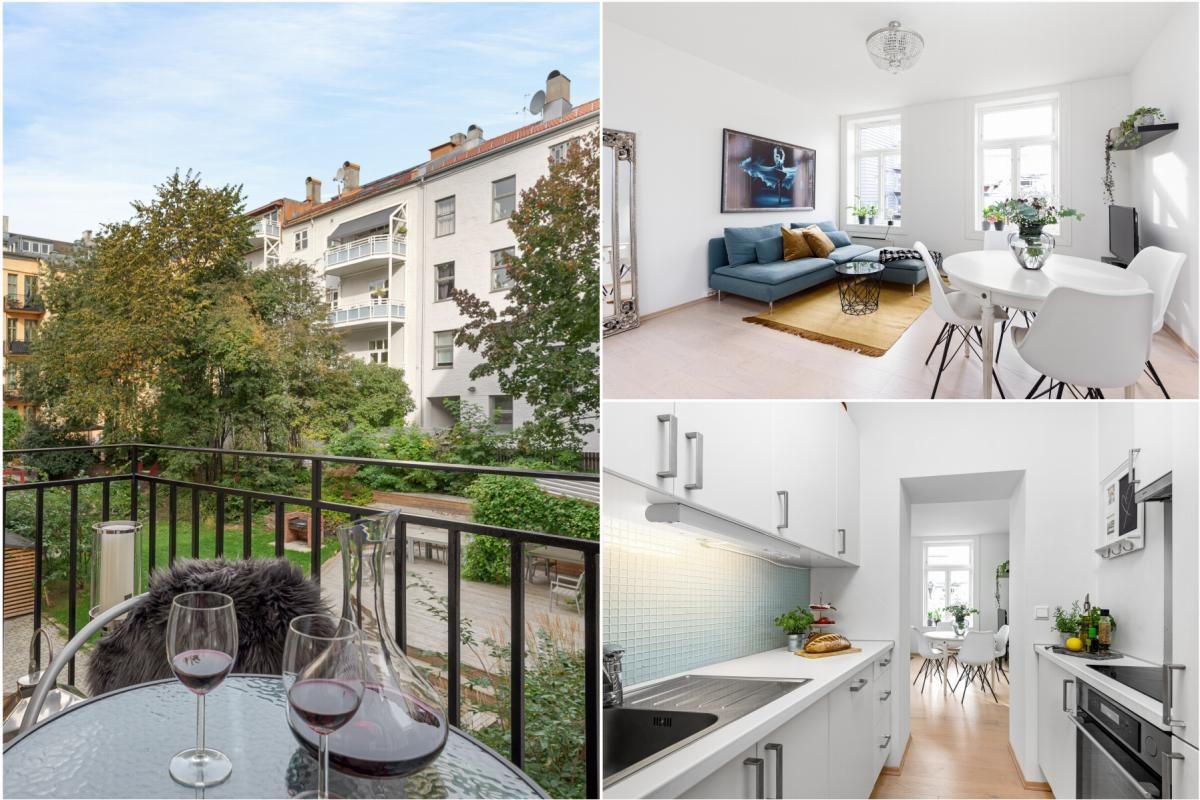 Leilighet - Grünerløkka - Sofienberg - oslo - 4 220 000,- - Schala & Partners