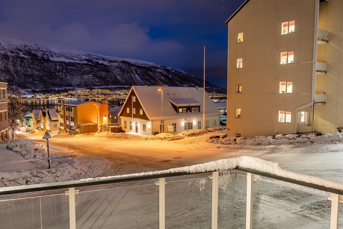 Leiligheten ligger med gangavstand til Tromsø sentrum