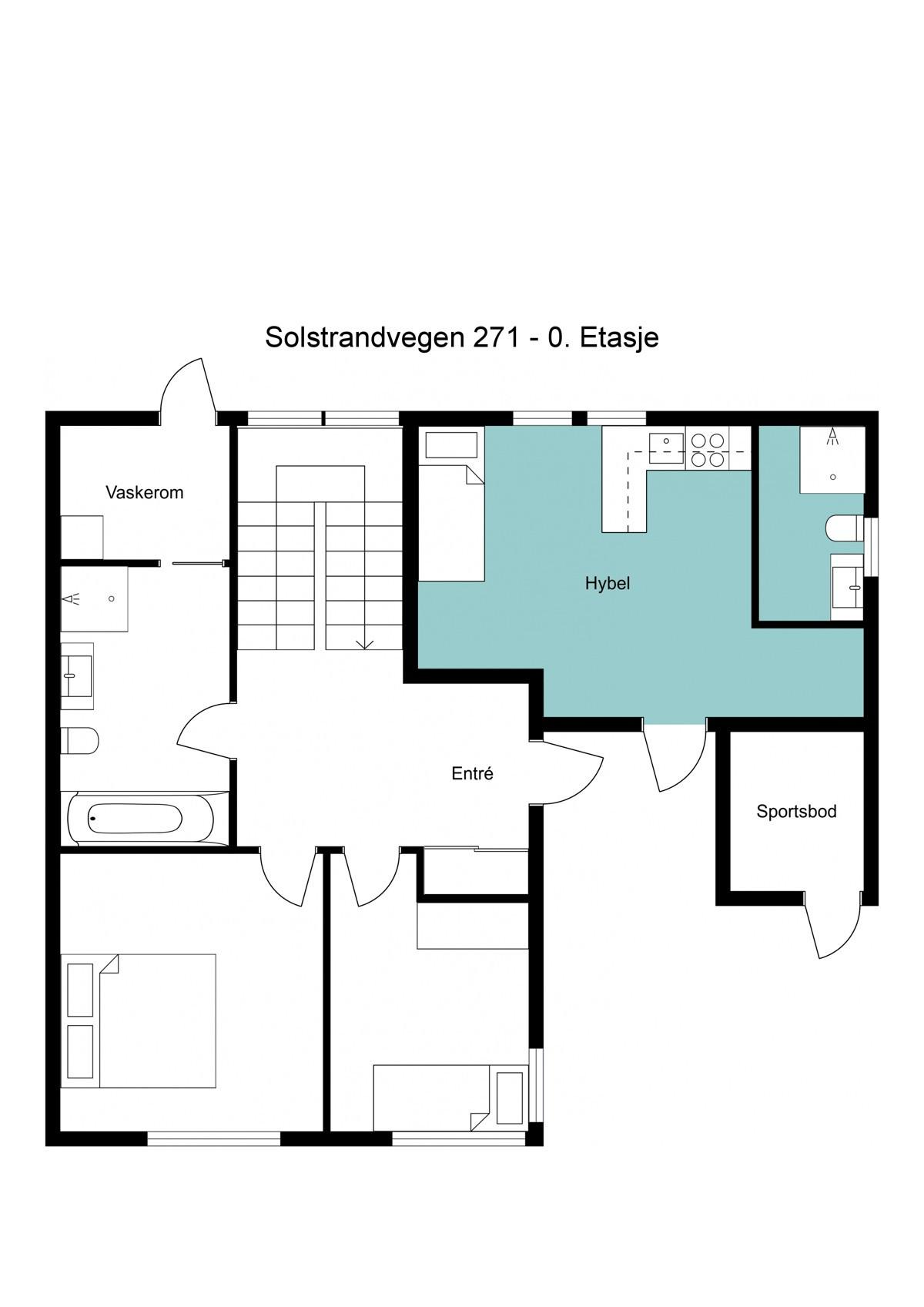 Planskisse 0. etasje