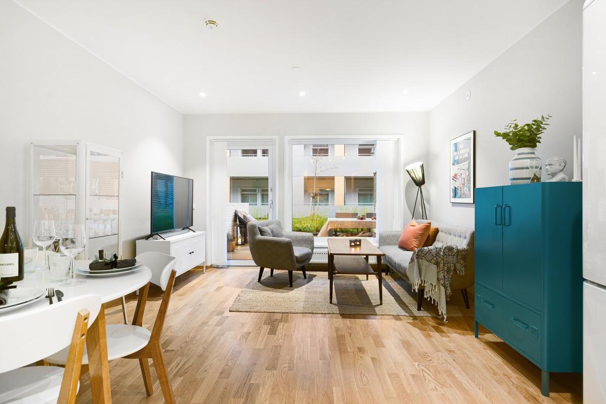 Innbydende og moderne 3-roms leilighet med sentral beliggenhet på Strandkanten!