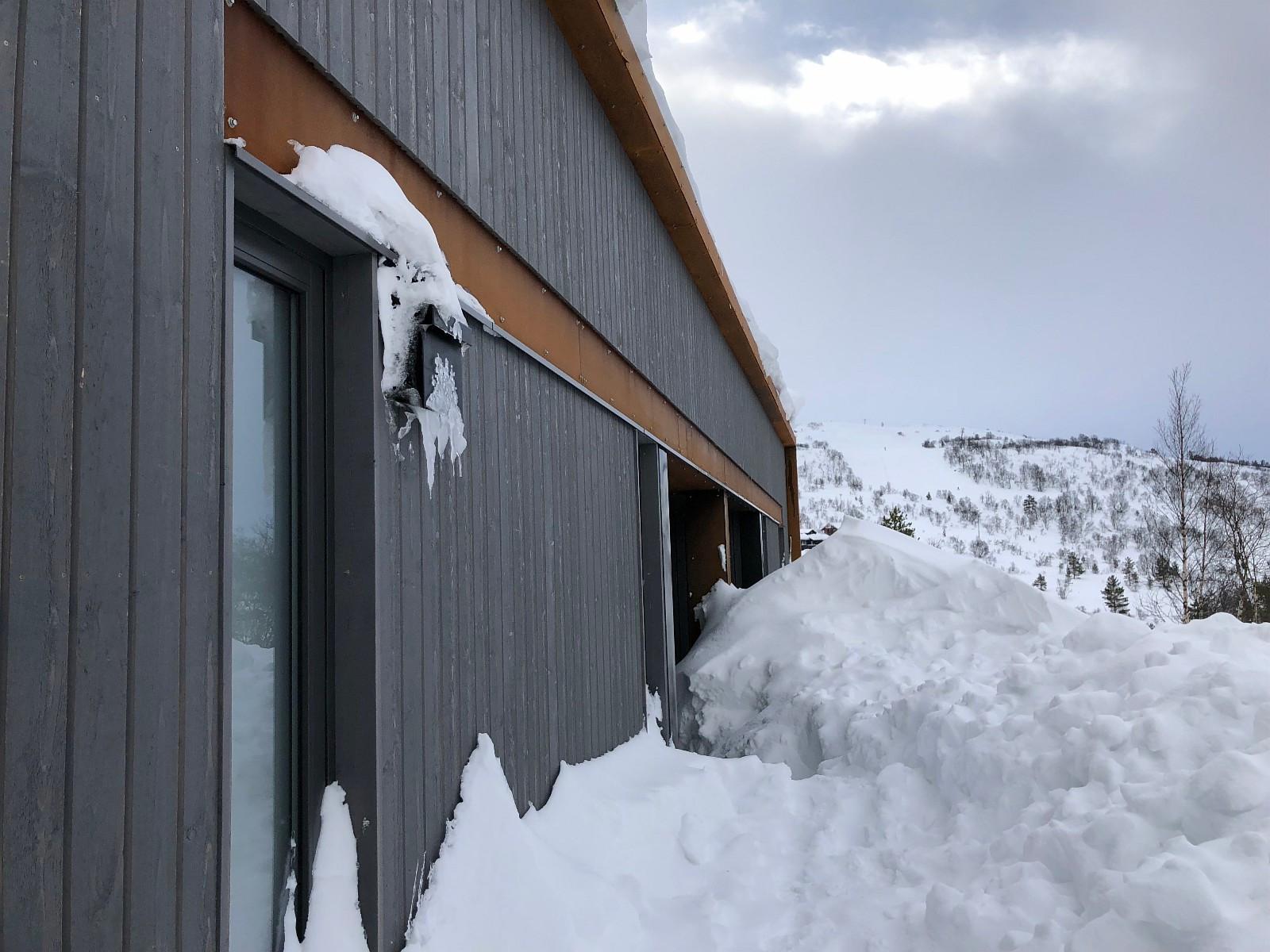 Det er meget snøsikkert på Hattevarden - beliggende på nesten 600 m.o.h.