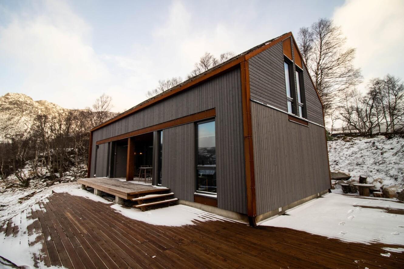 Langhytta på Hattevarden Knaben - En sjelden flott hytte på fjellet