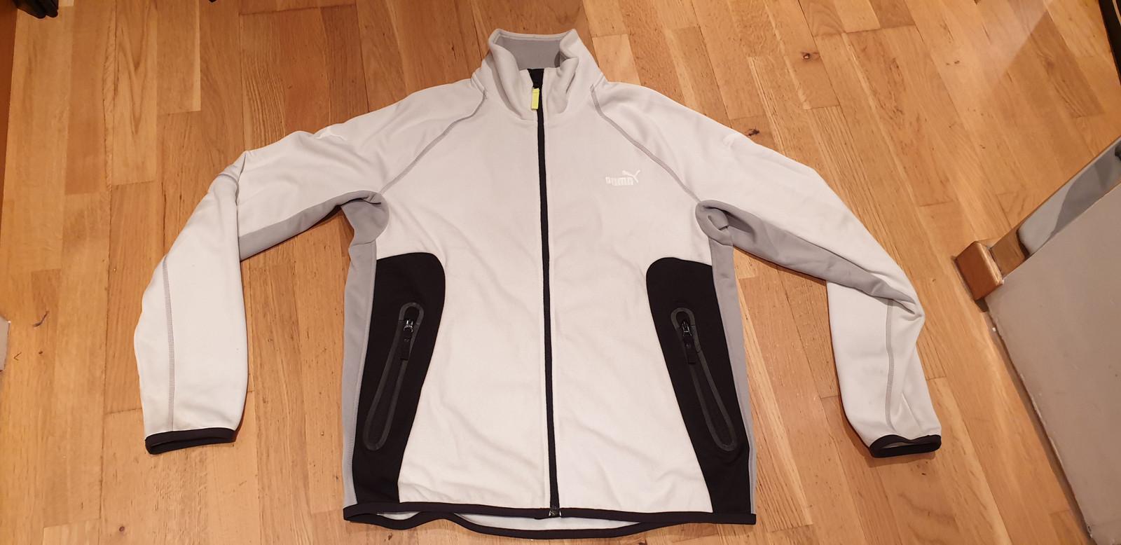 Puma fleece jakke   FINN.no