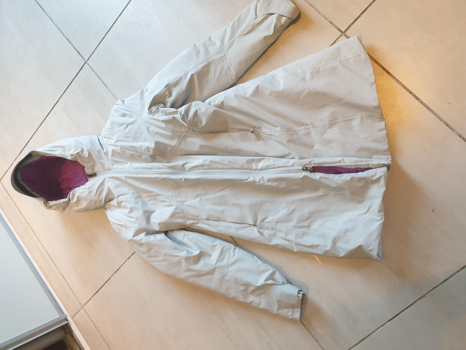 Arc'teryx Pearl Gray Sylva Windstopper Jakker Dame | FINN.no