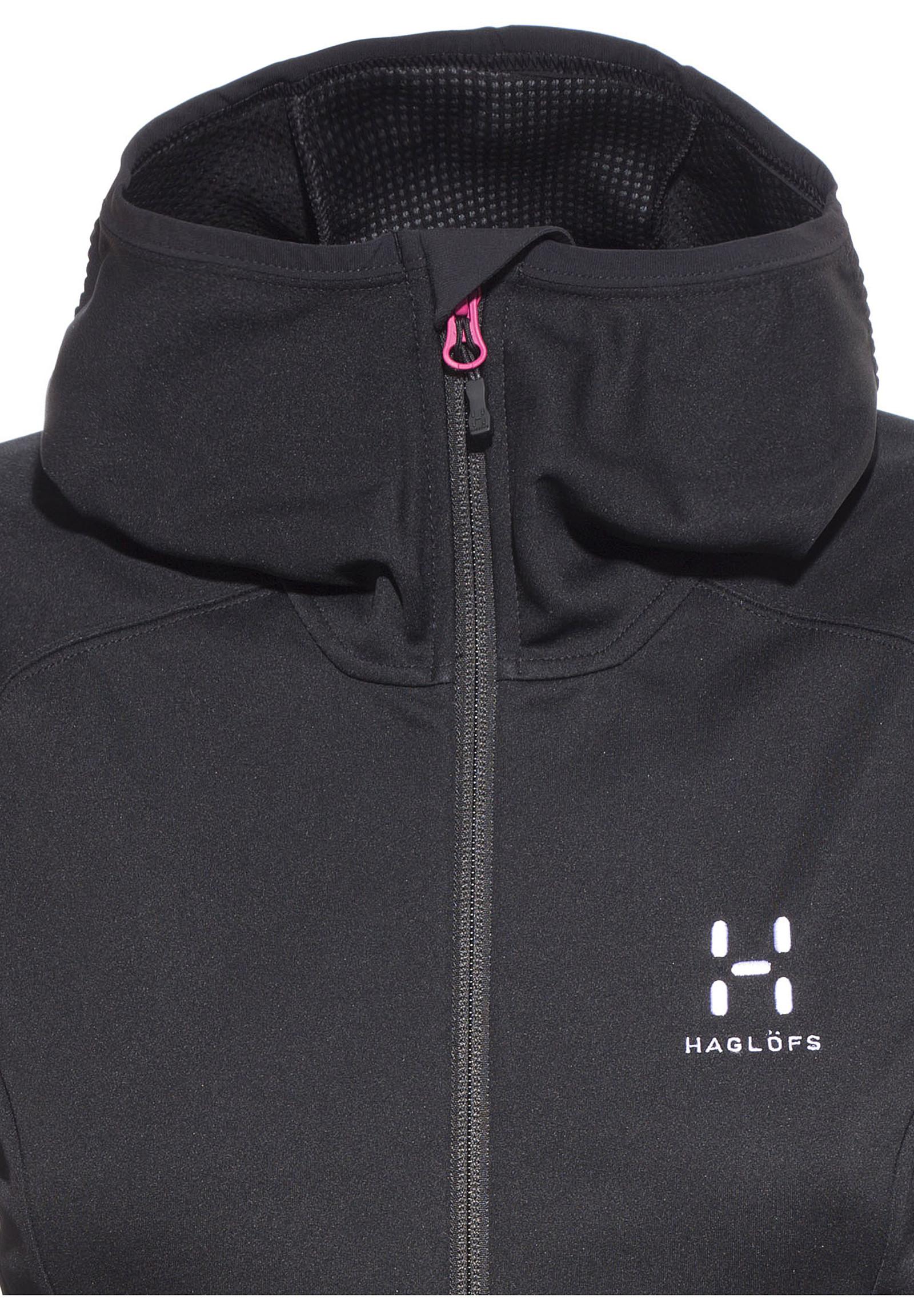 Haglöfs Softshell jakke Hood Dame str. M (Ny med merkelapper