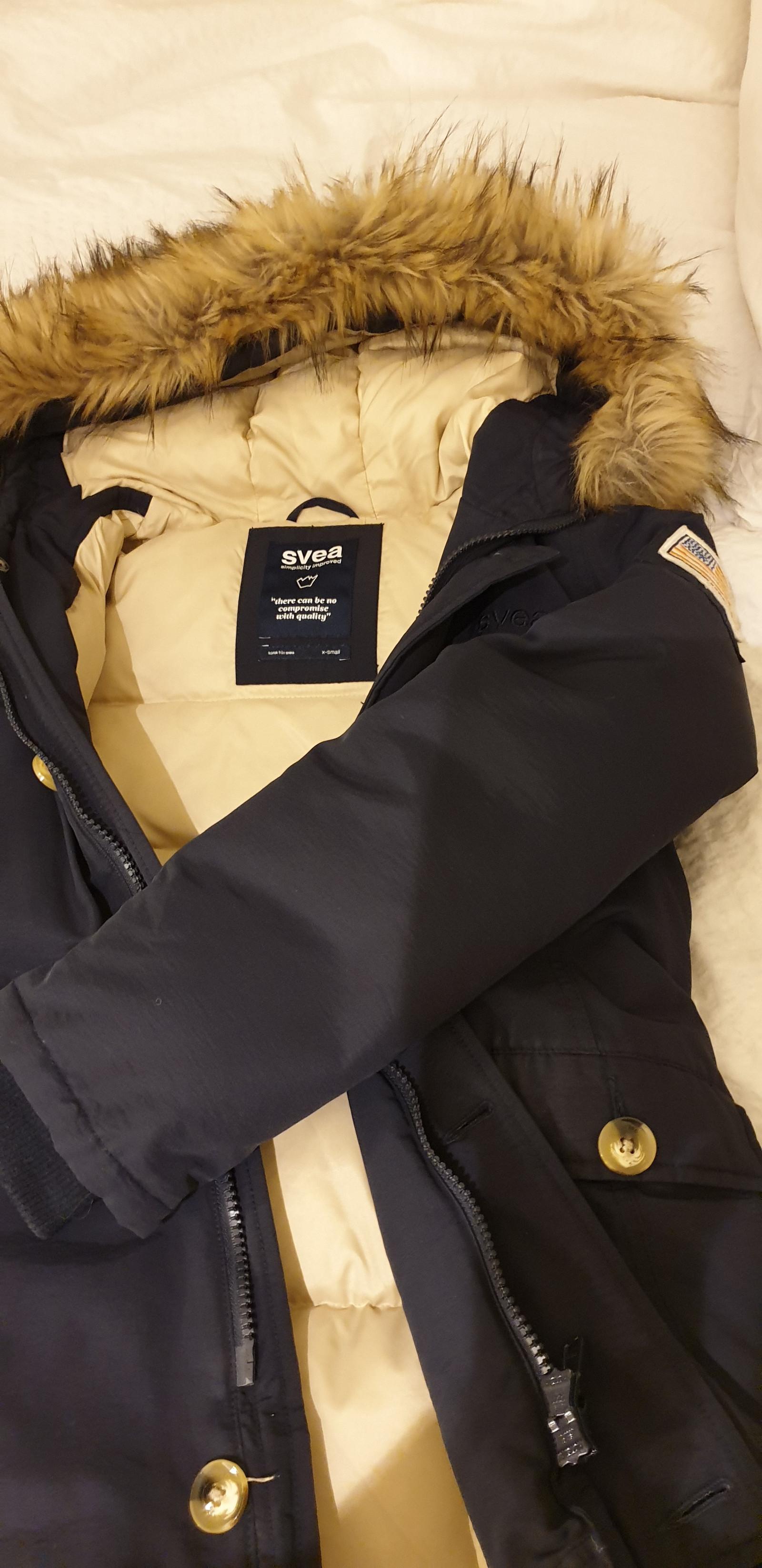Svea Miss Smith jakke dame str. XS mørkeblå | FINN.no