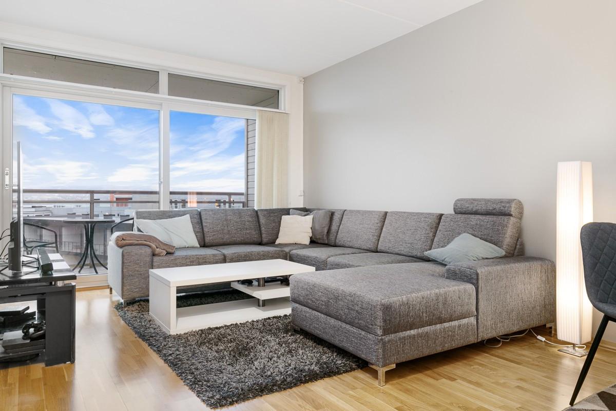 Fin 2-roms leilighet med veranda og sentral beliggenhet på Tomasjordnes!