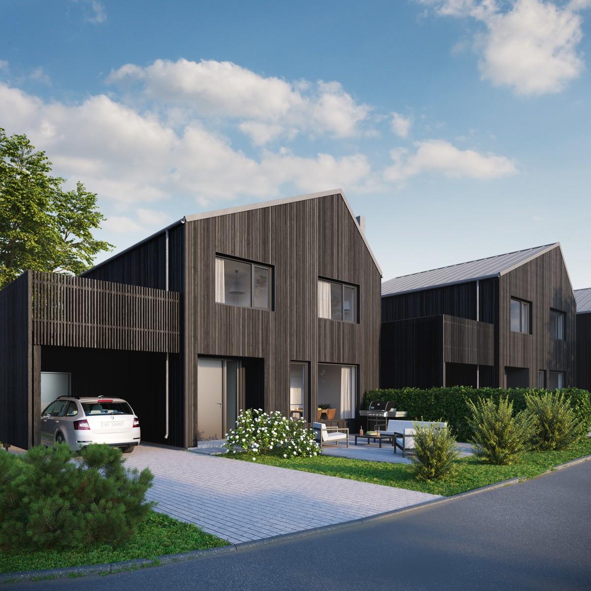 Rekkehus - gjøvik - 4 490 000 til 6 150 000,- - Partners Eiendomsmegling